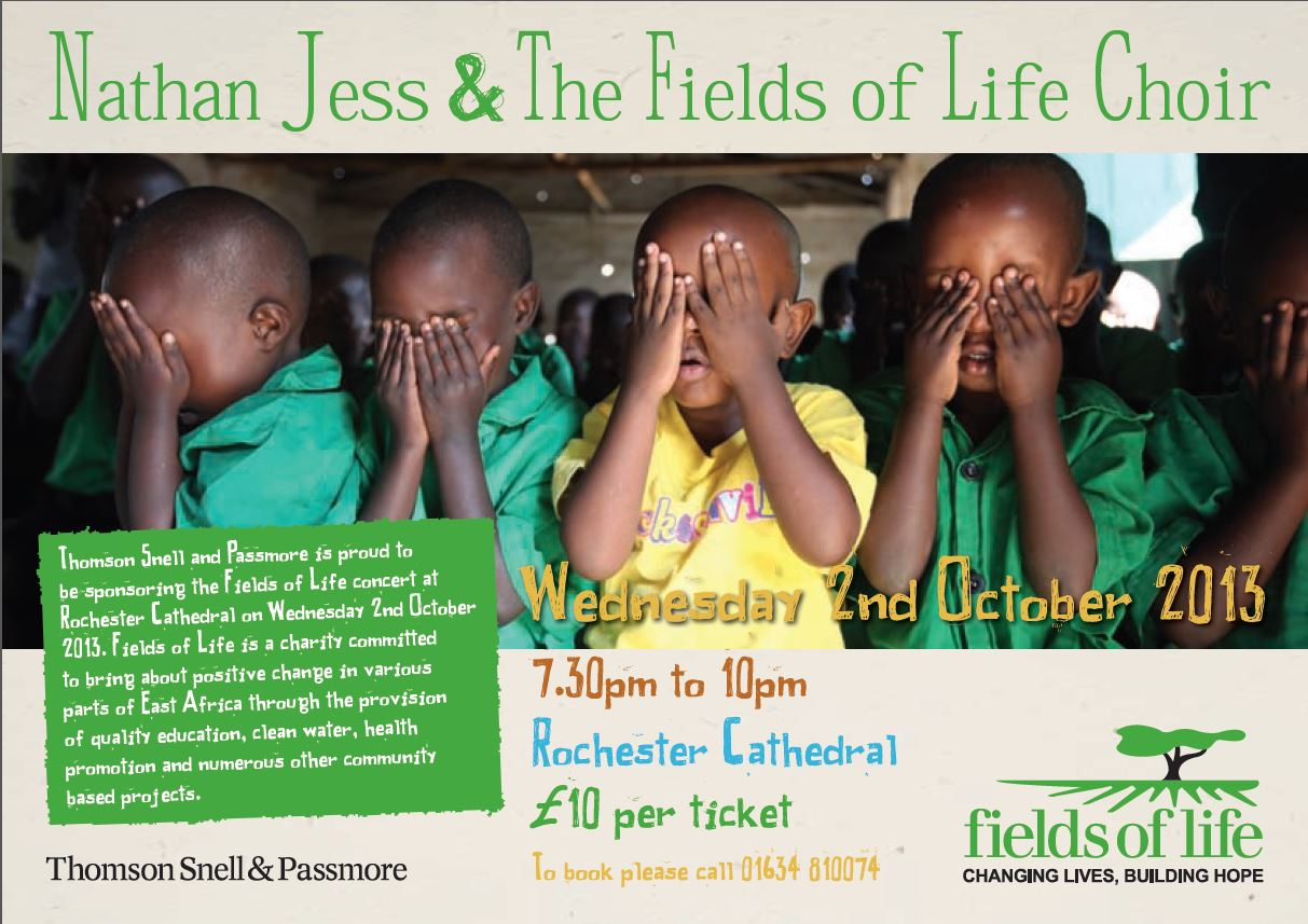 Fields of Life Concert 2 Oct